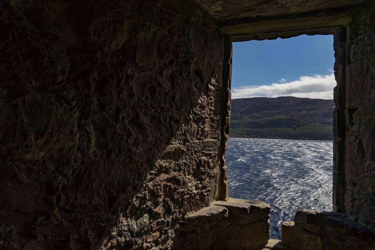 Urquhart Castle Window