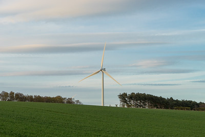 Scottish Wind Turbine