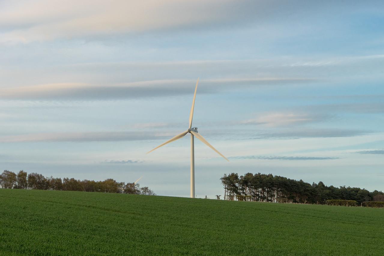 Scottish Wind Turbine