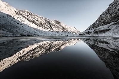 Perfect reflections, Glencoe