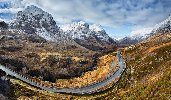 Round the bend, Glencoe, Scotland