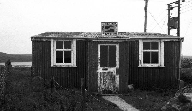 Shoe Maker Shop, Lochmaddy, North Uist