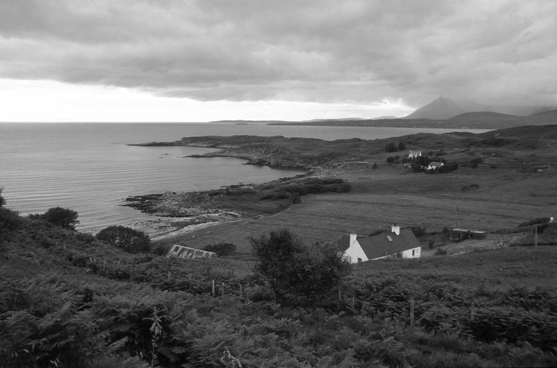 Cuillin Hills from Tarskavaig, Skye