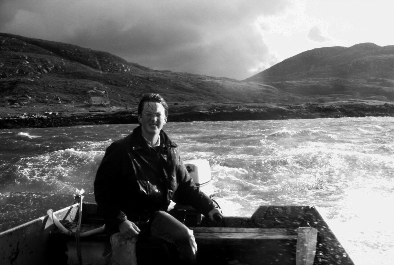 Alan's Stormy Sund Crossing, South Uist