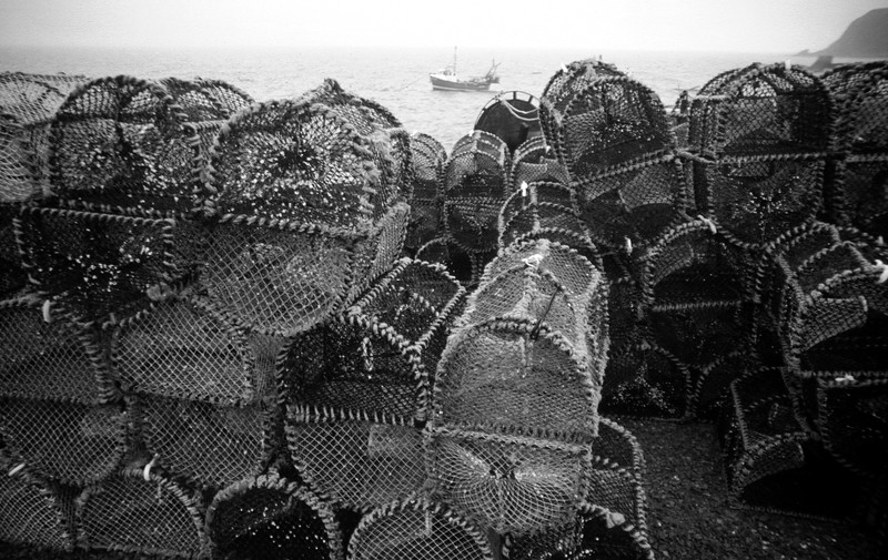 Lobser Baskets, Elgol, Skye