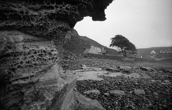 Rock Shore, Elgol, Skye
