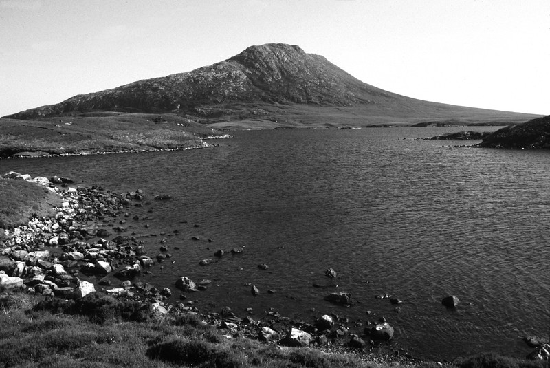 Eaval, Loch Obisary, South Uist