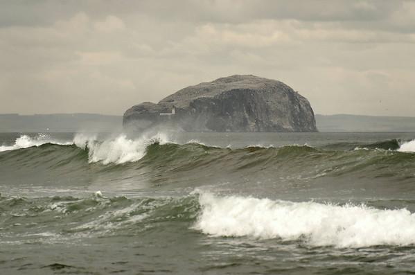 Bass Rock near North Berwick