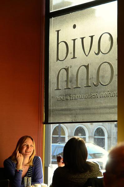 David Bann vegie restaurant; Edinburgh