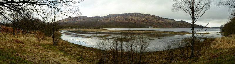 Loch Venachar, Ben Ledi in background