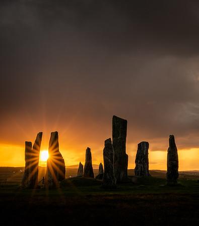 Callanais sunrise, Outer Hebrides, Scotland