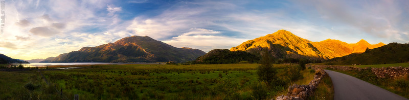 Five Sisters of Kintail (40MP Panorama)