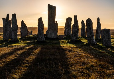 Dawn at Callanais, Outer Hebrides, Scotland