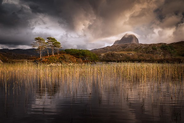 Suilven from Lochinver, Highland, Scotland