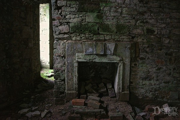 Tower Manor Hall Fireplace