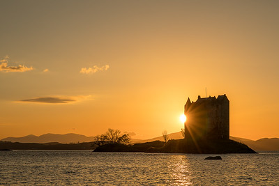 Castle Stalker Sunset, Argyll