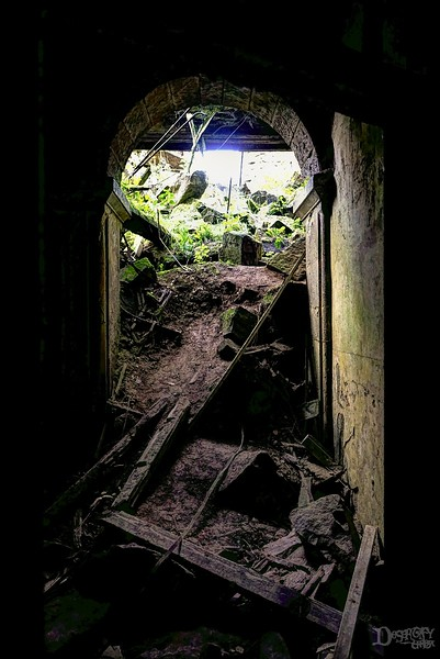 Collapsed Tunnel at Mental Asylum