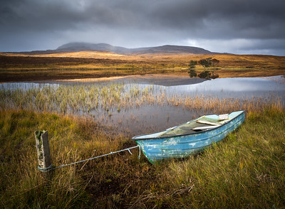 Boat by the Loch