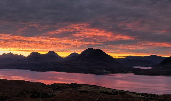 Torridon dawn, Scotland