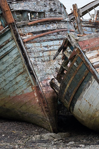 Old fishing boats, Isle of Mull