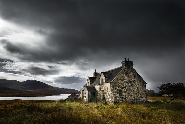 Derelict Croft, Outer Hebrides, Scotland