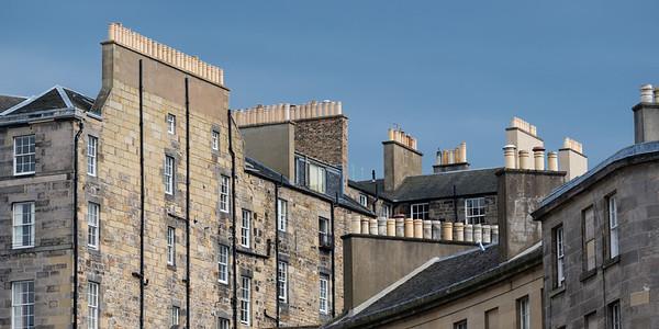 Rooftops, Edinburgh