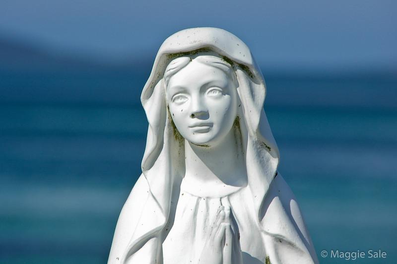 Virgin Mary statue, Eriskay