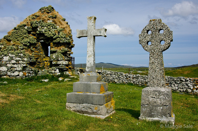 Howemore church remains, S. Uist