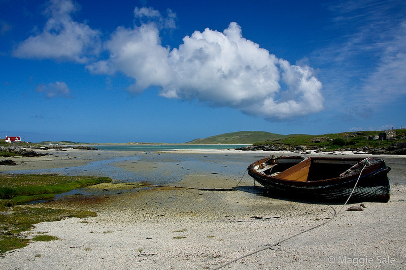 Cockle shell beach, Barra