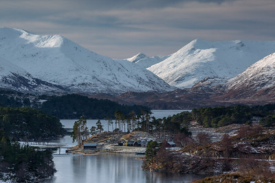 LOCH AFFRIC IN WINTER