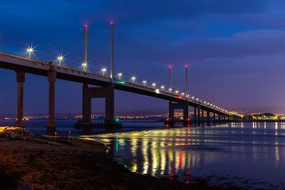 KESSOCK BRIDGE AT NIGHT