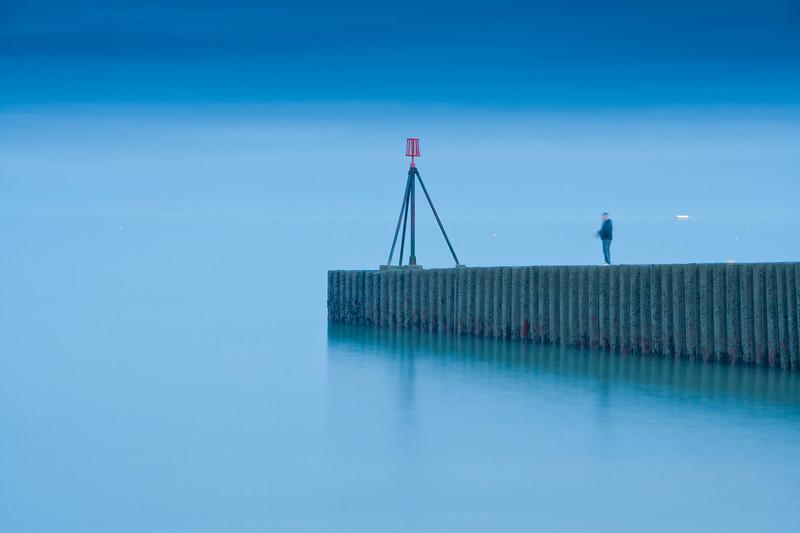 Blue Fisherman