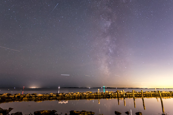 Stonington Harbor Milky Way