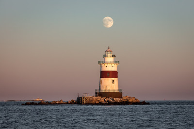 Latimer Lighthouse Harvest Moom