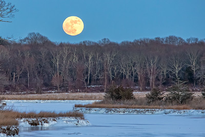 Full Moon at Salt Water Farm