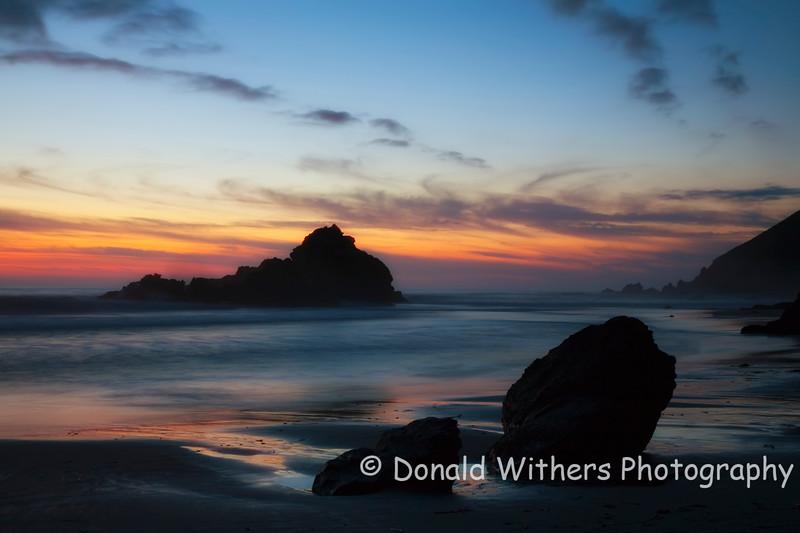 Pfeiffer Beach Sunset | Big Sur