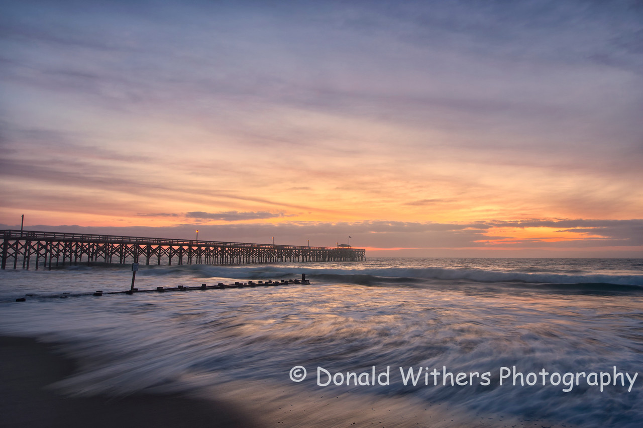 New Moon Sunrise | Pawleys Island Pier<br /> Scenic | 1st Place Winning photograph in the 2013 Winyah Rivers Foundation Photo Contest.