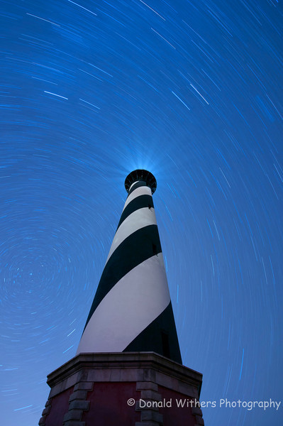 Star Trail | Cape Hatteras Lighthouse