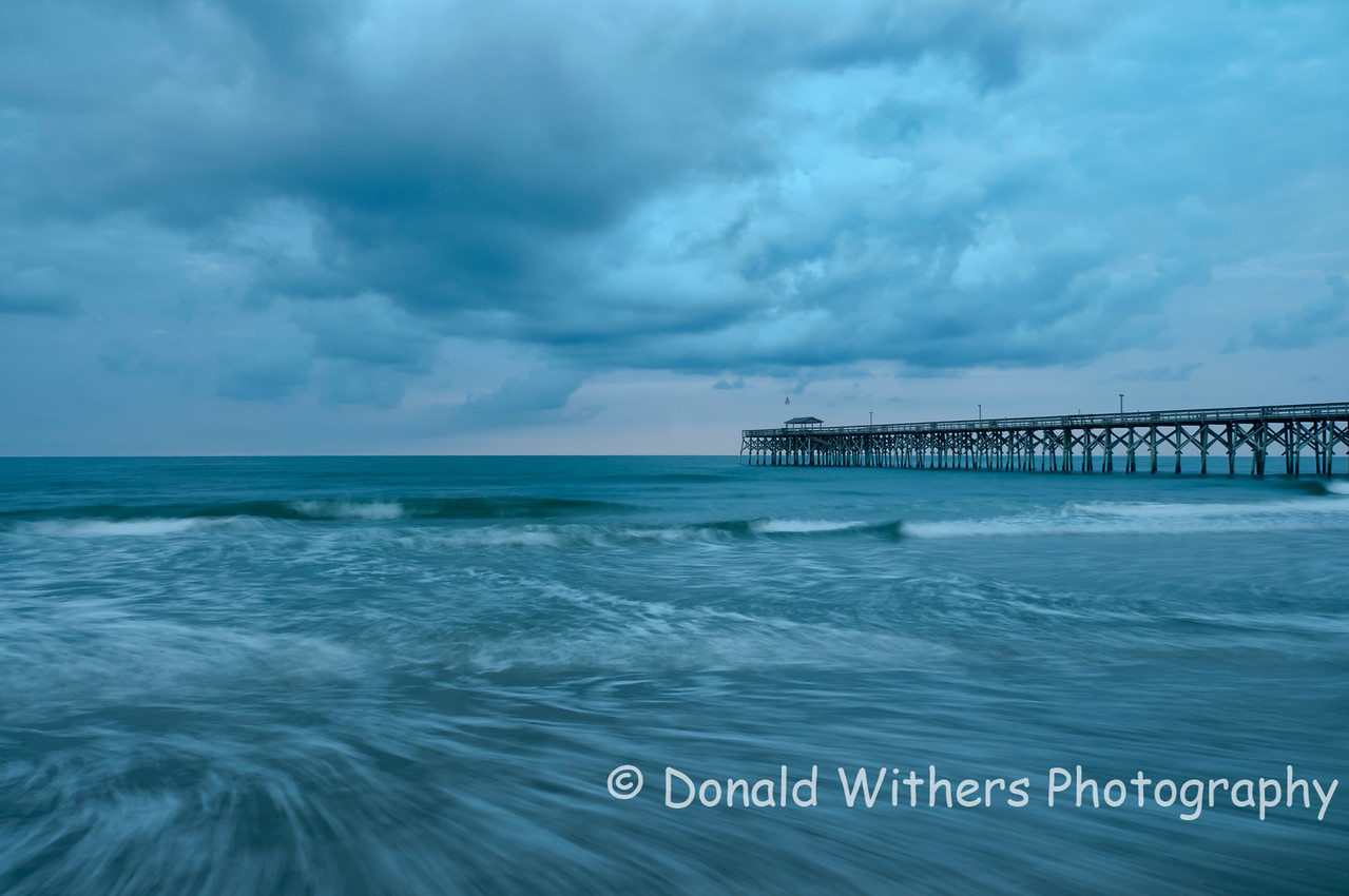 Swirling Tide | Pawleys Pier
