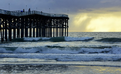 Evening Light, Pacific Beach Pier