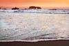 Sunset waves 3- Sonoma coast