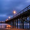 Blue Hour Storm at the Goleta Pier