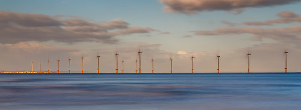 Redcar Wind Farm (Long Exposure)