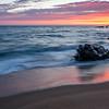 Panther Beach - after sunset glow