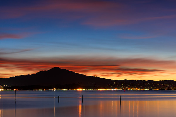 Blue Hour on San Rafael Bay