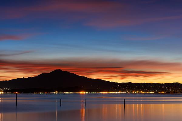 Blue Hour on San Rafael Bay