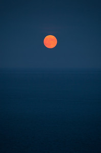 Moon Rise, South Devon