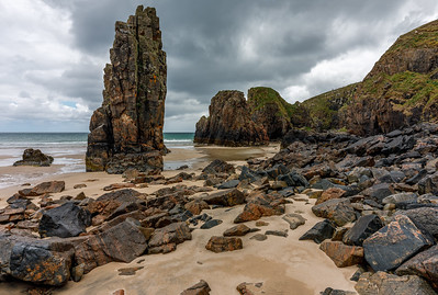 Sea Stacks on an overcast day