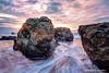 Rocks at Sunset- Garrapata Beach