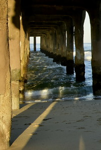 Manhatten Beach Pier, CA.